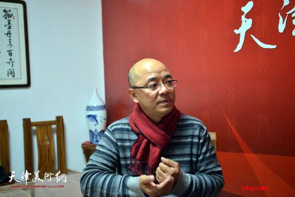"""""""于小冬工作室成立四周年天津巡展""""在天津画院青创中"""