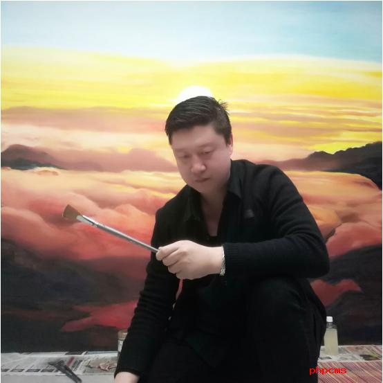 新时代的奋斗者——专访画家赵兴国