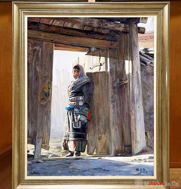 油画作品《守望》被中国美术馆收藏