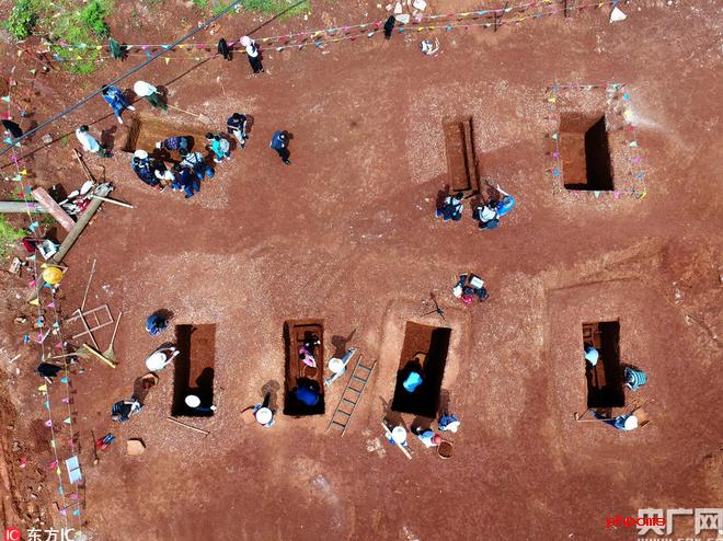 益阳考古发现墓葬86座文物400余件