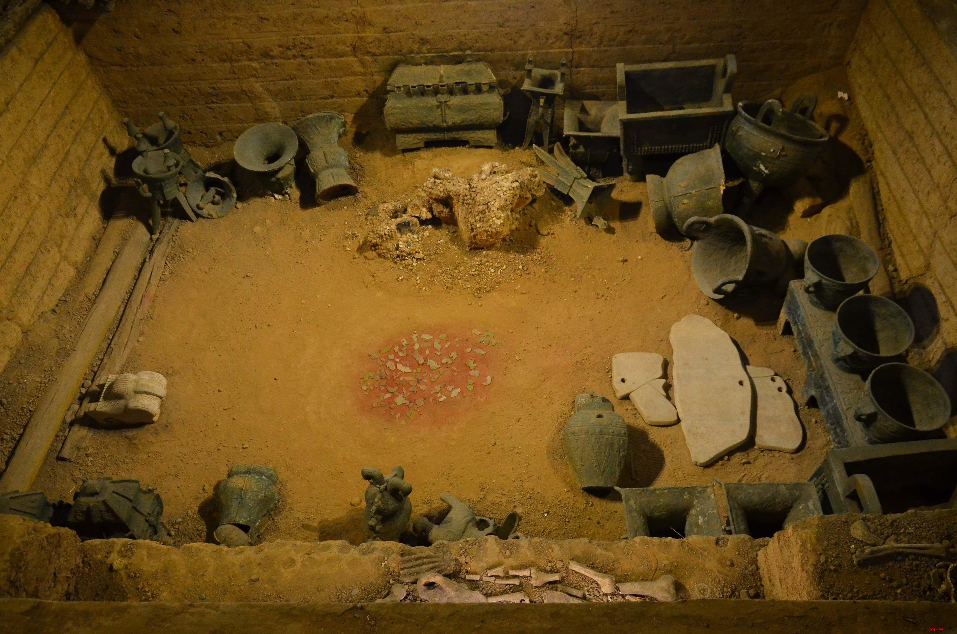 河南安阳殷墟遗址发现可能与庖厨有关的房址