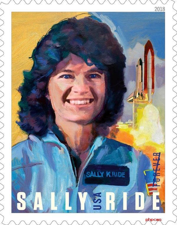 美国邮政局通过发行邮票的方式来纪念已故的美国首位女性宇航员