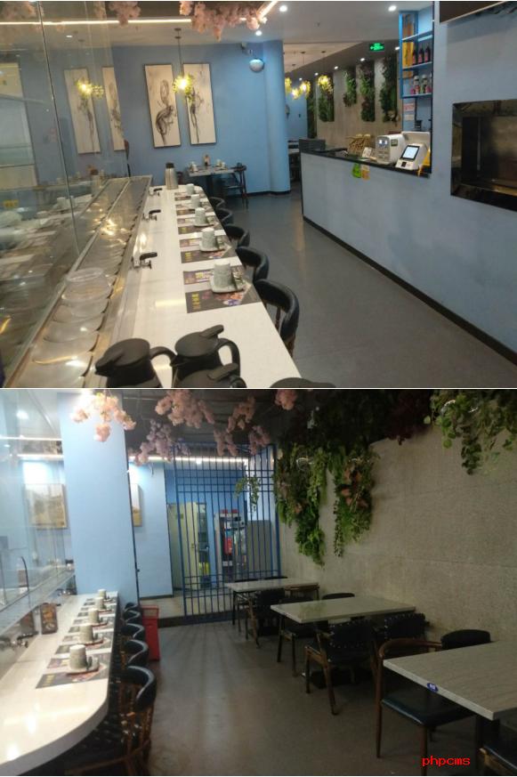 快八商铺:横岗志键时代广场商场入口处餐饮《铺面转让》