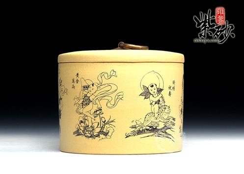 紫砂罐的制作工艺及鉴赏